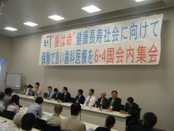 6.4国会内集会:正面DSCF6077