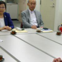 日本歯科衛生士会の武井会長を訪問