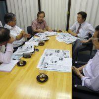 医科歯科連携は順調に進行中/第2回メディア懇談会で松島会長があいさつ