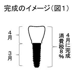 インプラント図1:タテ247pix