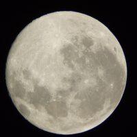 歯科診療所ベランダより撮影/東京の夜空で皆既月蝕観測